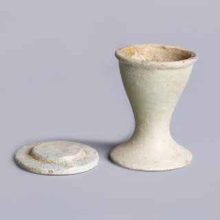 Egyptian Faience Offering Cup