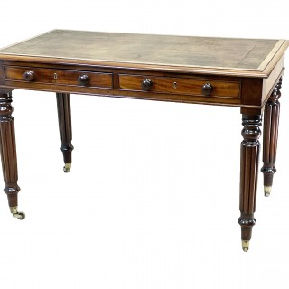 Regency Mahogany 19th Century Writing Table