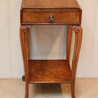 Burr Maple Occasional Table