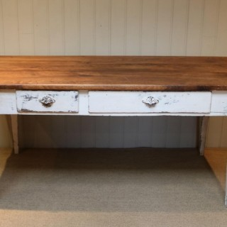 French Oak Farmhouse Table