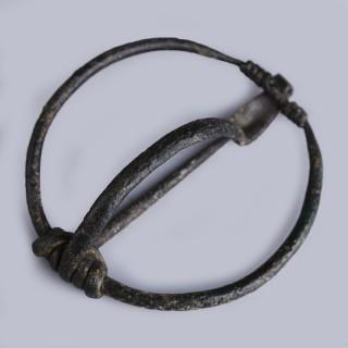 Celtiberian Bronze Annular Brooch
