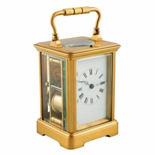 French Repeat Carriage Clock