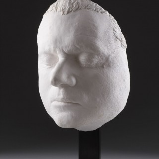 A Life Mask Depicting Francis Bacon