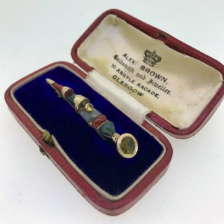 Scottish Gold Dirk Pin