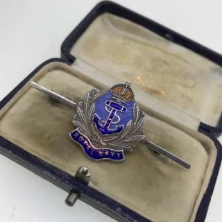 Royal Navy Brooch
