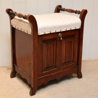 Beech Piano Stool