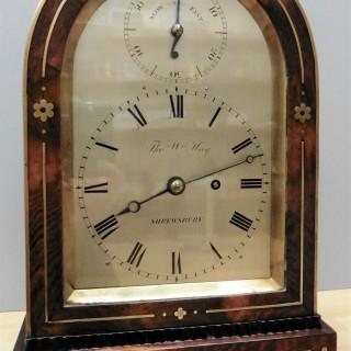 Regency Rosewood Bracket Clock by Thomas William Hay, Shrewsbury