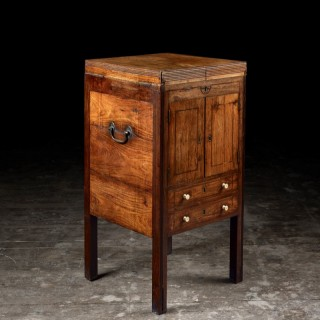 An early 19th century Chinese export huanghuali washstand