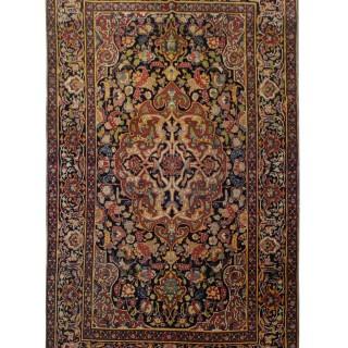 Handmade Farahan Wool Area Rug- 135x203cm