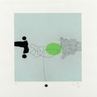 Victor Pasmore 1 from Sensory World, 1996