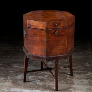 A Scottish George III mahogany cellarette
