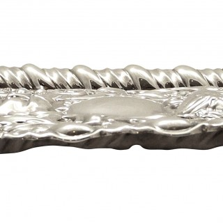 Antique Edwardian Sterling Silver Dressing Tray 1906