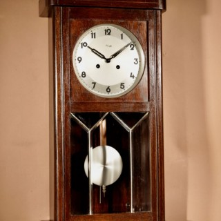 An Kienzle Oak 1940s Wall Clock