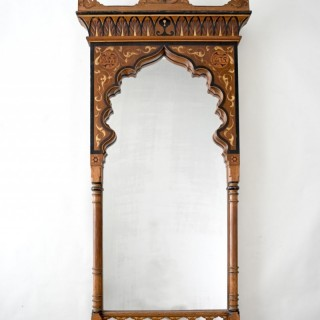 19th Century Moorish Mirror from Yves Saint Laurent's Datcha