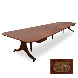 Early 19th Century 'Cumberland' Mahogany Dining Table by David Edwards