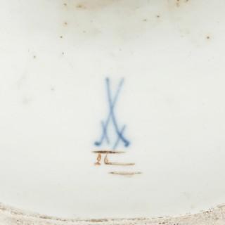 19th Century Meissen Porcelain 'Water' Elemental Ewer