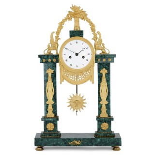 Neoclassical Louis XVI Period French Mantel Clock