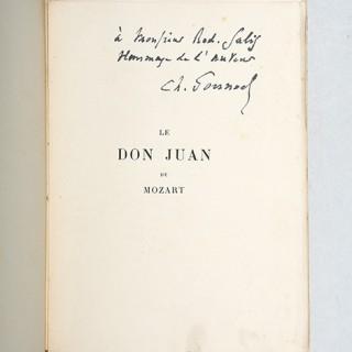 Le Don Juan de Mozart.