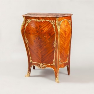 ] Louis XV Style Side Cabinet in the Manner of J-E. Zwiener