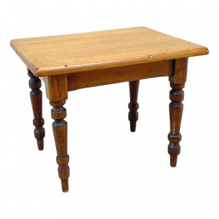 Victorian Miniature Mahogany Centre Table
