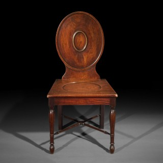 George III Hall Chair in the manner of Ince and Mayhew