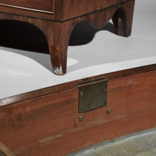 George III Bow-Front Chest of Drawers, Attributed to Gillows