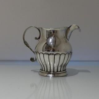 Early 19th Century Antique Silver Spanish Jug Circa 1830