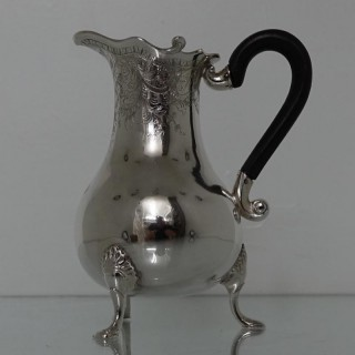 18th Century Dutch Cream Jug Amsterdam Circa 1765 Maker Hnh