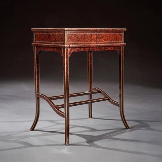 Unusual Early 20th Century French Thuya Wood Metamorphic Writing Table