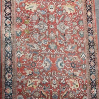 Antique Ziegler and Company oversize carpet