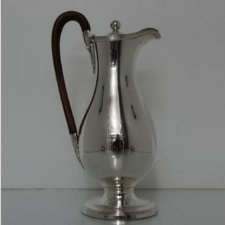 Geo III Sterling Silver Wine/Hot Water Jug London 1788 John Scofield