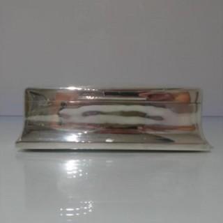 Early 20th Century Antique Edwardian Sterling Silver Cigar Box London 1901 Joseph Braham