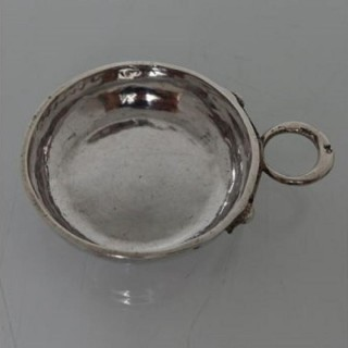 18th Century French Antique Silver Wine Taster Circa 1783/85 Angers Joseph Bedane