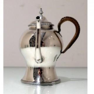 18th Century Antique George III Sterling silver Gravy Argyle London 1772 Walter Brind