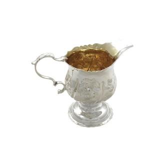 Antique Georgian Sterling Silver Jug 1763