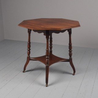 Aesthetic Movement Ash Occasional Table