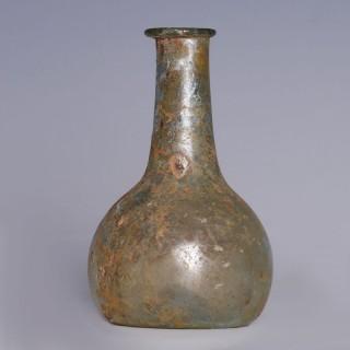 Roman Iridescent Flask