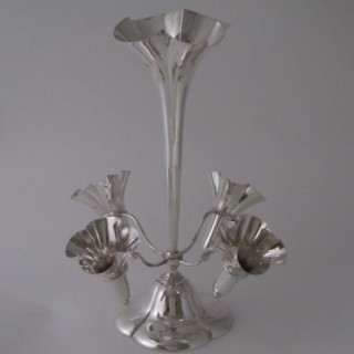 Antique Edwardian Sterling Silver Epergne