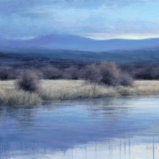 'Late Autumn on the Spey' by Scottish artist Carina Prigmore