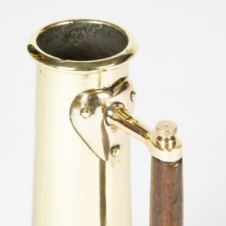 Brass salinometer test pot, circa 1870.