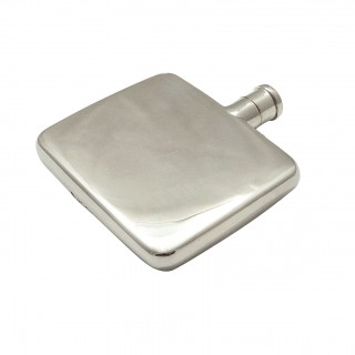 Antique Sterling Silver Perfume / Scent Flask 1929