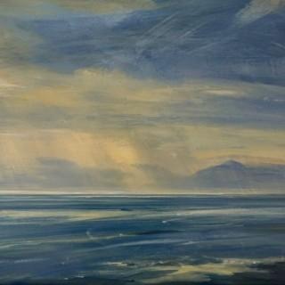 'Towards Islay, Evening' by Zarina Stewart-Clark