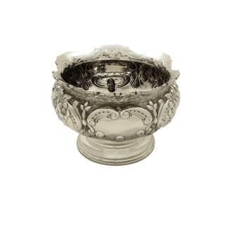 Antique Edwardian Sterling Silver Bowl 1905