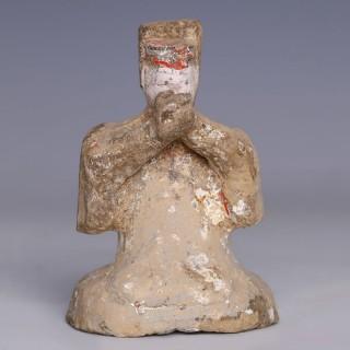 Han Dynasty Terracotta Musician
