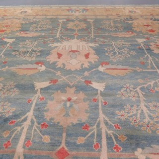 Very large contemporary Arts & Crafts carpet, handwoven in Iran