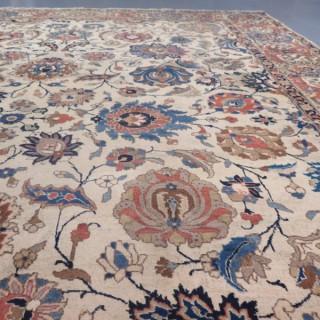 Fine Tabriz carpet, signed