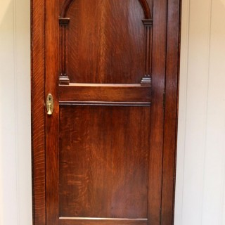 Solid Oak Hall Cupboard