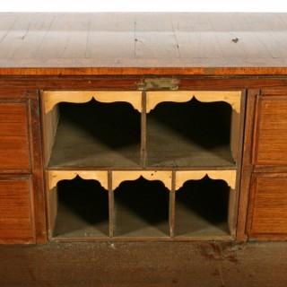 18th Century Italian Parquetry Bureau