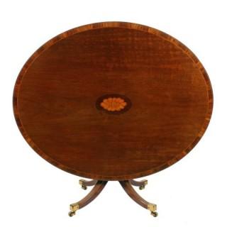 Georgian Oval Centre Table