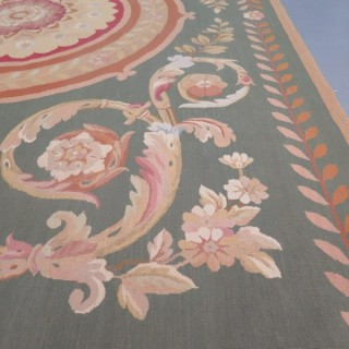 Fine contemporary Charles X Aubusson carpet